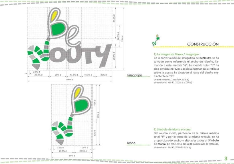 Identidad Visual BeNouty 5