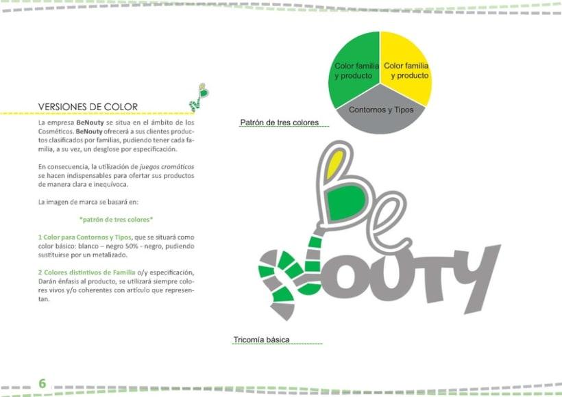 Identidad Visual BeNouty 8
