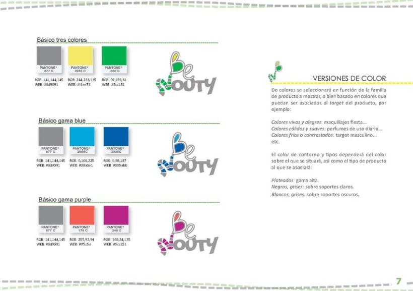 Identidad Visual BeNouty 9