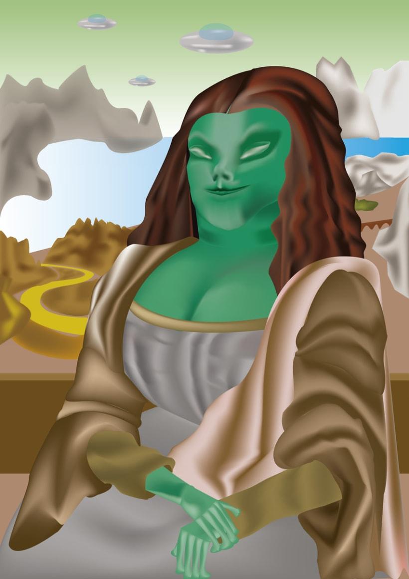 Monalisa Extraterrestre 1