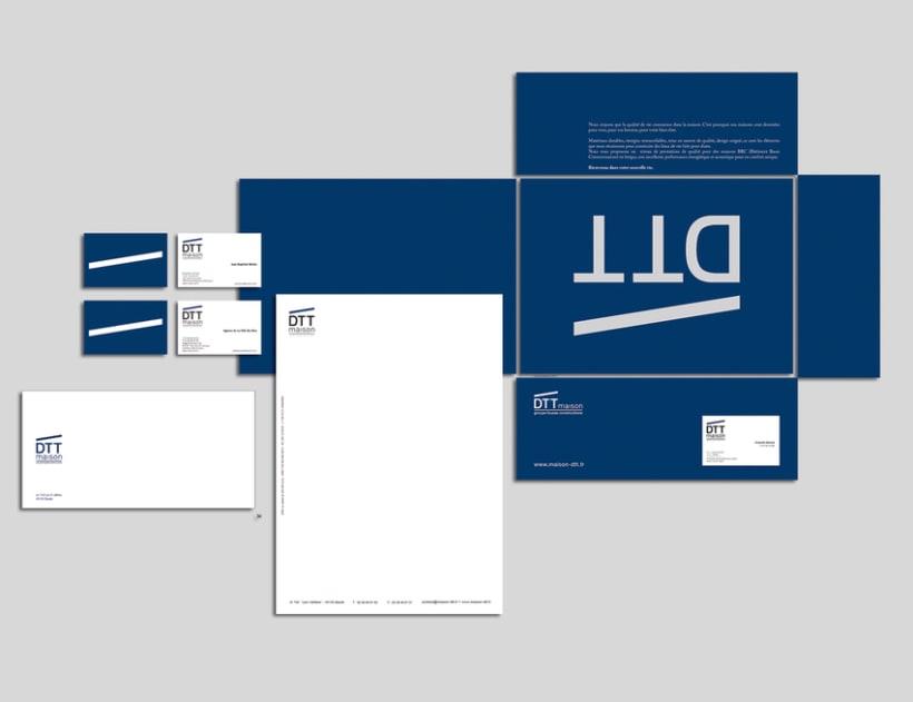 maison DTT : branding y sus aplicaciones 0