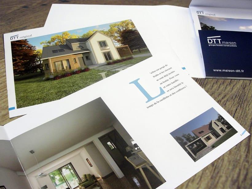 maison DTT : branding y sus aplicaciones 5