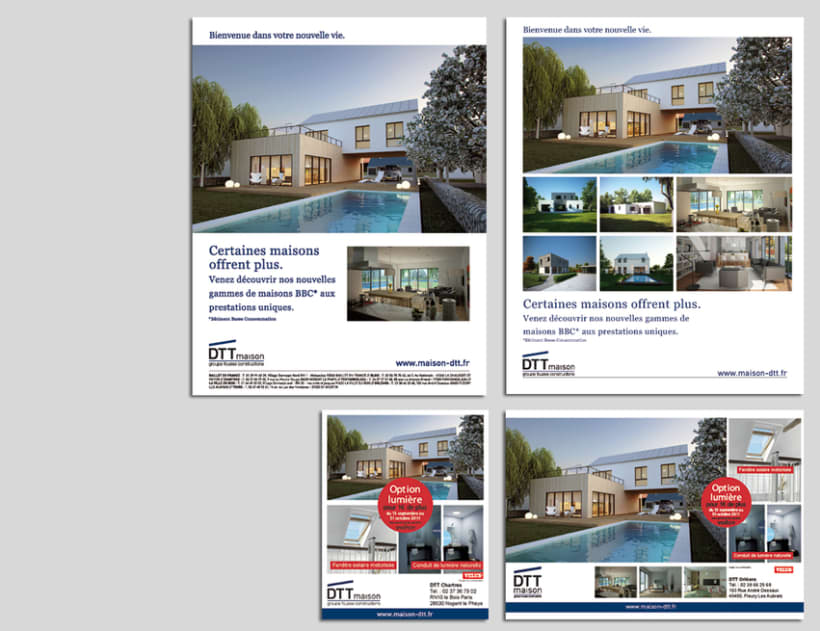 maison DTT : branding y sus aplicaciones 4