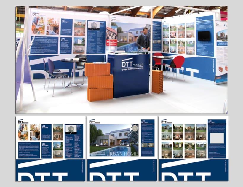 maison DTT : branding y sus aplicaciones 7