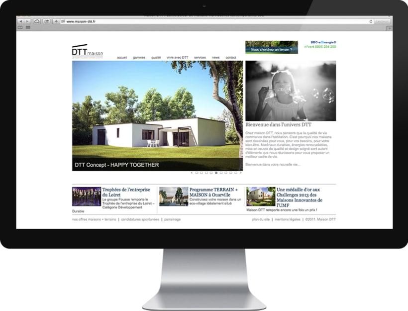 maison DTT : branding y sus aplicaciones 2