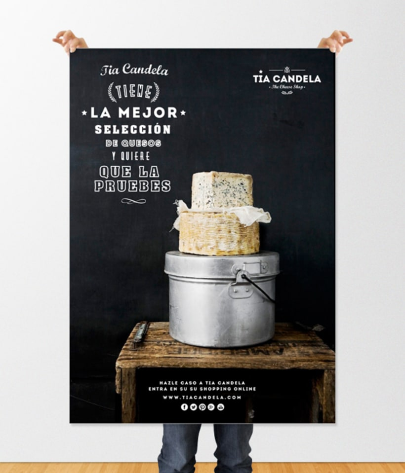 """Tia Candela, The Cheese Shop"" 12"