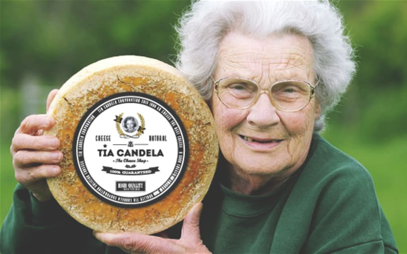"""Tia Candela, The Cheese Shop"" 7"