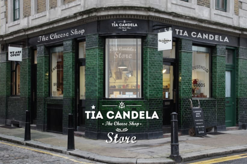 """Tia Candela, The Cheese Shop"" 13"