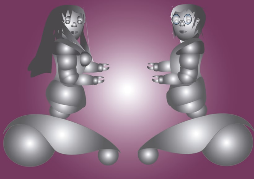 Pareja de Robots 1