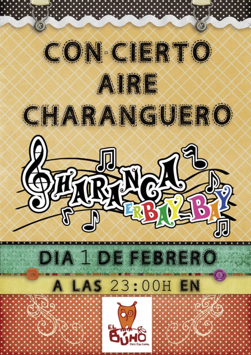 Cartel Charanga ErBay-Bay 1