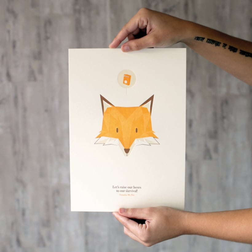 Fantastic Mr. Fox print 0