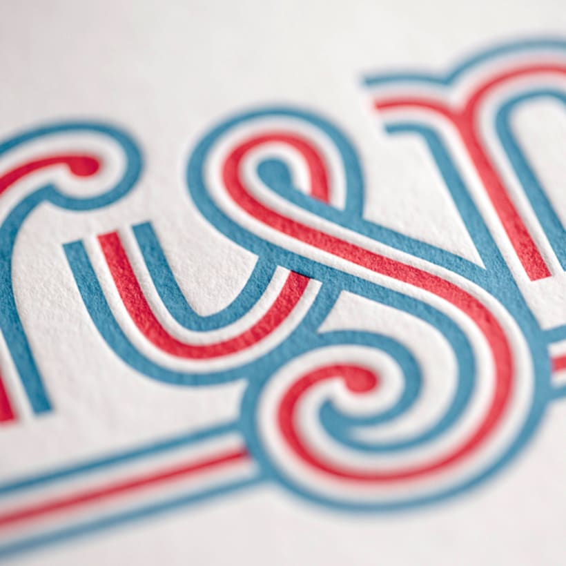 Express Yourself - Letterpress  & Lettering Exhibition 2