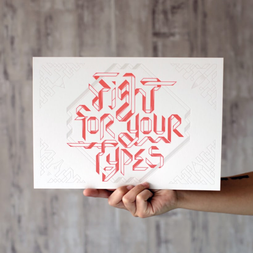 Express Yourself - Letterpress  & Lettering Exhibition 3