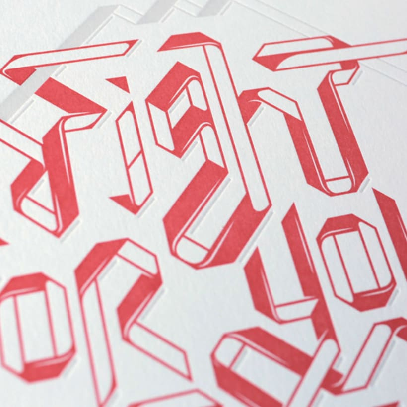 Express Yourself - Letterpress  & Lettering Exhibition 4