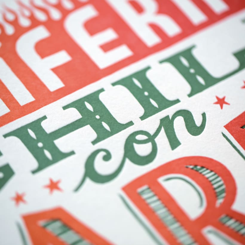 Express Yourself - Letterpress  & Lettering Exhibition 7