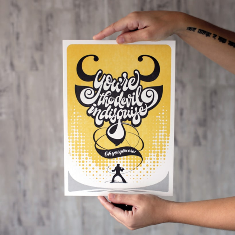 Express Yourself - Letterpress  & Lettering Exhibition 9