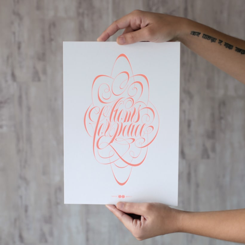 Express Yourself - Letterpress  & Lettering Exhibition 12