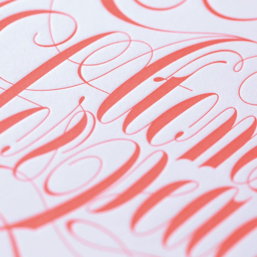 Express Yourself - Letterpress  & Lettering Exhibition 13