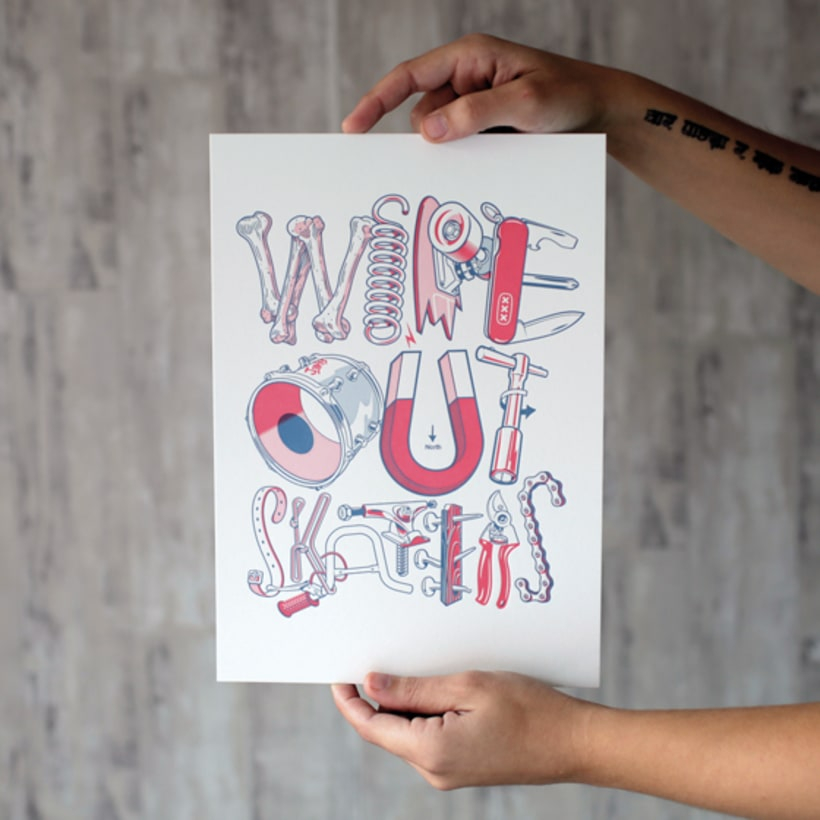 Express Yourself - Letterpress  & Lettering Exhibition 17