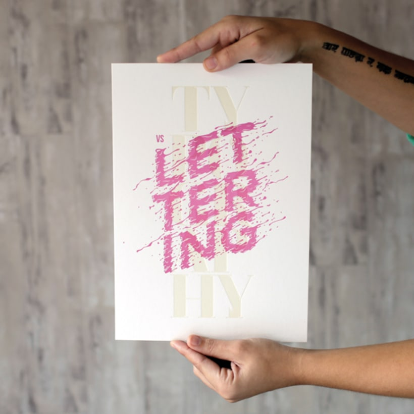 Express Yourself - Letterpress  & Lettering Exhibition 20