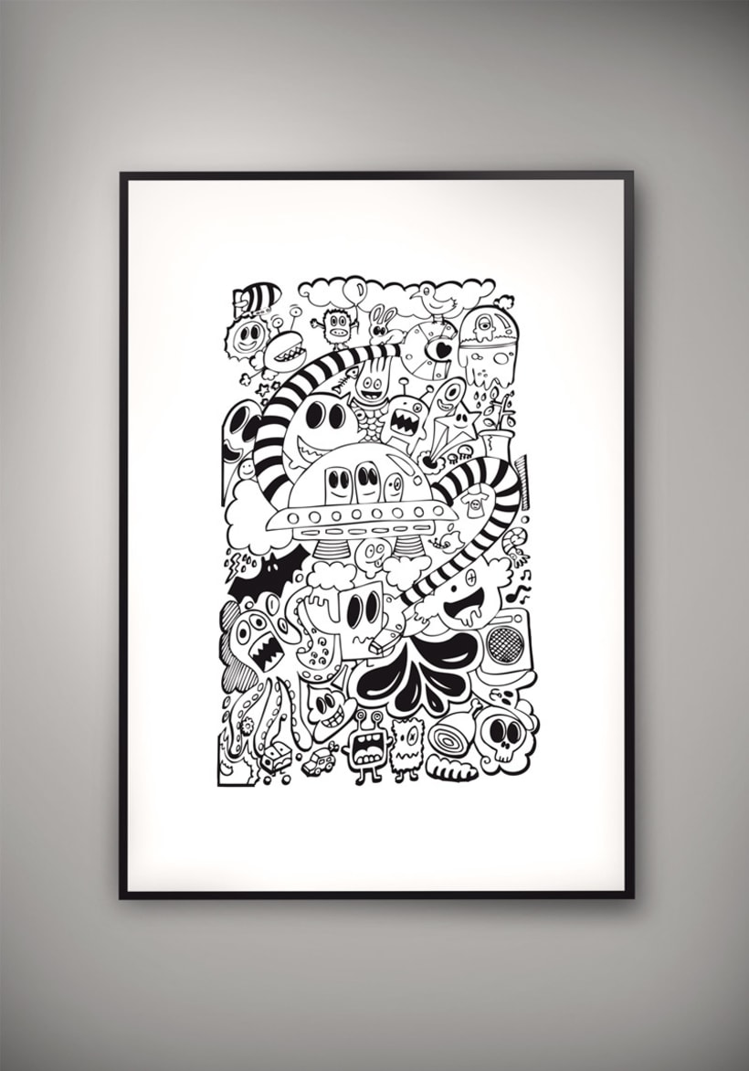 Doodle Poster 0