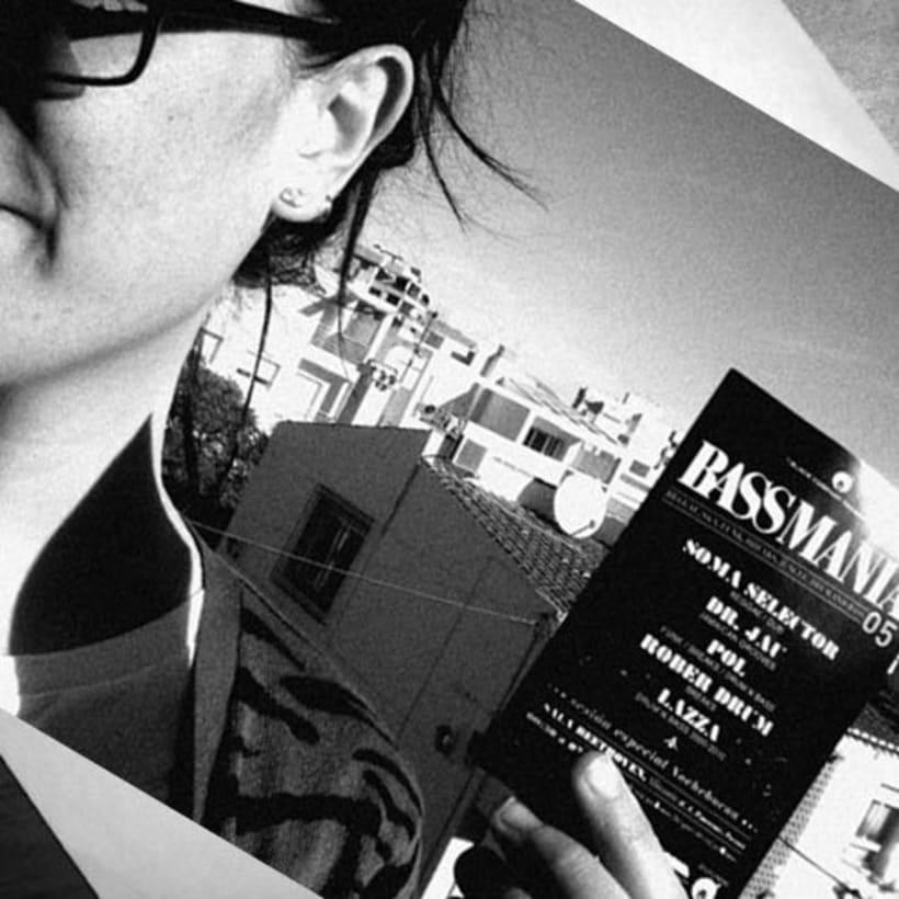 Bassmania | direccion de arte, carteles flyers y visuales en directo 5