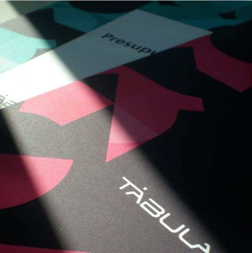 Tabula | rebranding + aplicaciones. 0