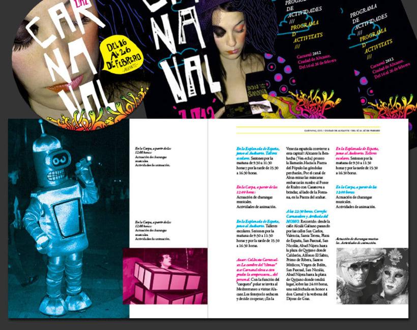 Carnaval Alicante | proyecto de comunicación + aplicaciones 3