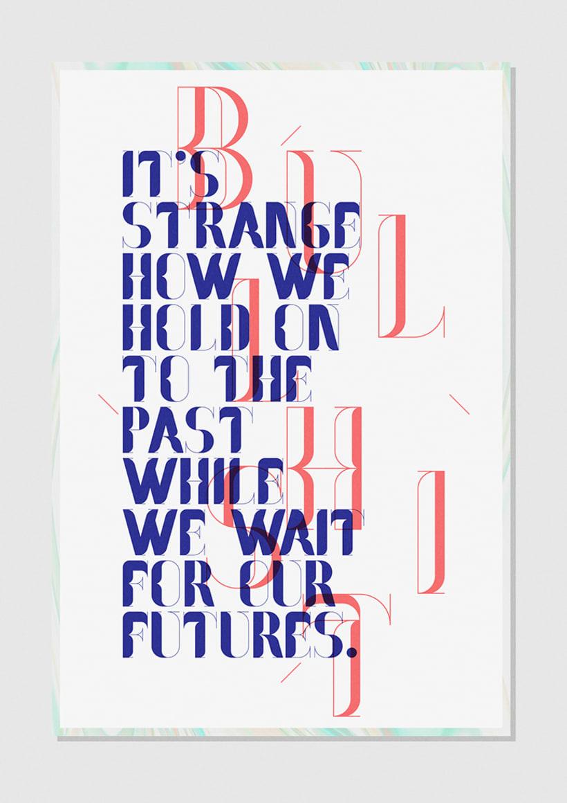 Nostalgia Typeface 5
