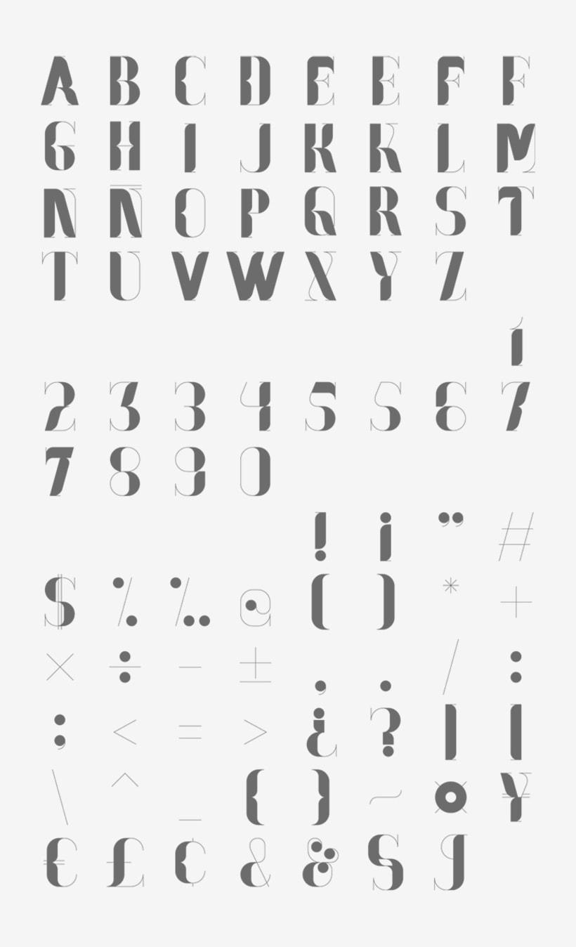 Nostalgia Typeface 7
