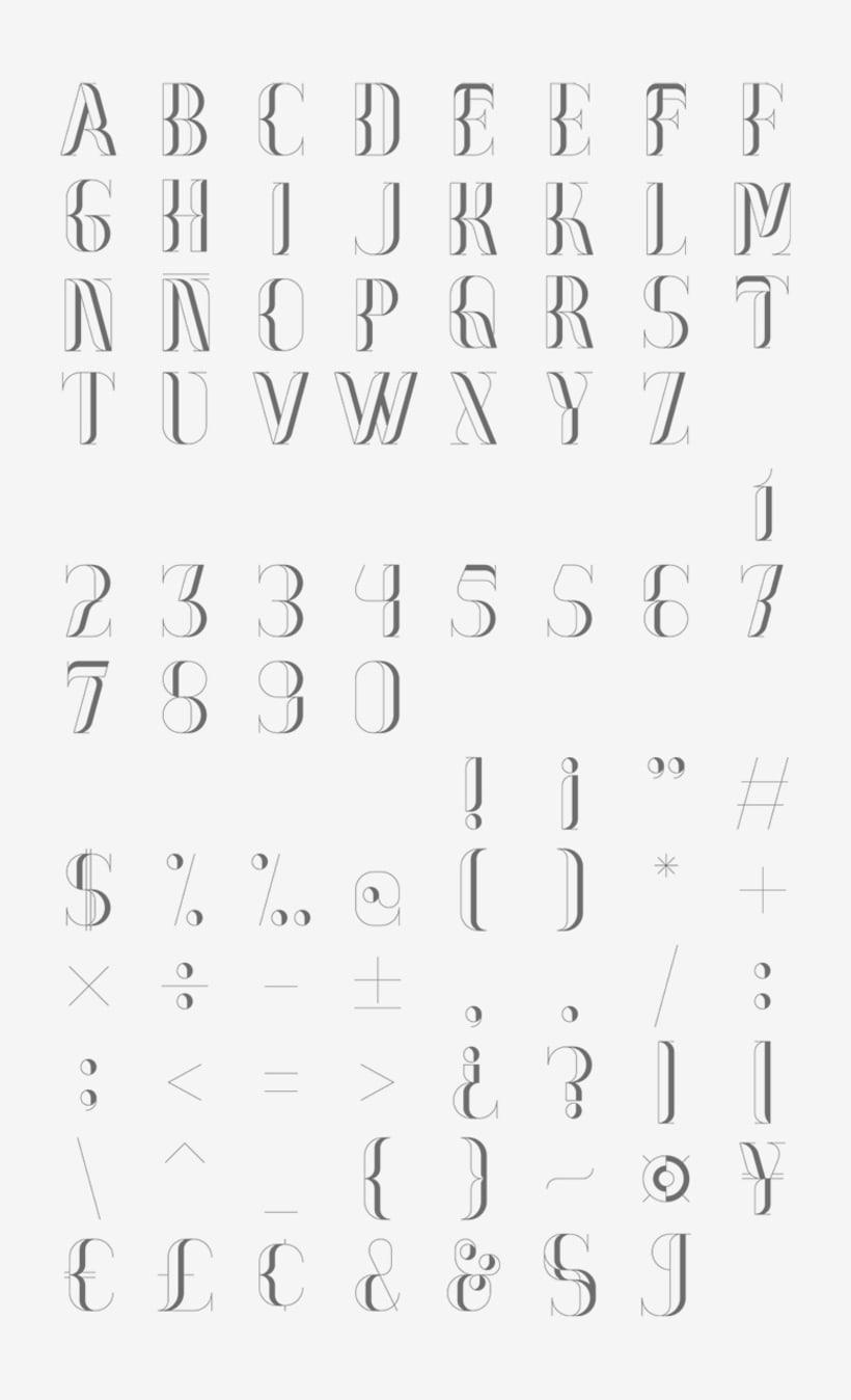 Nostalgia Typeface 8