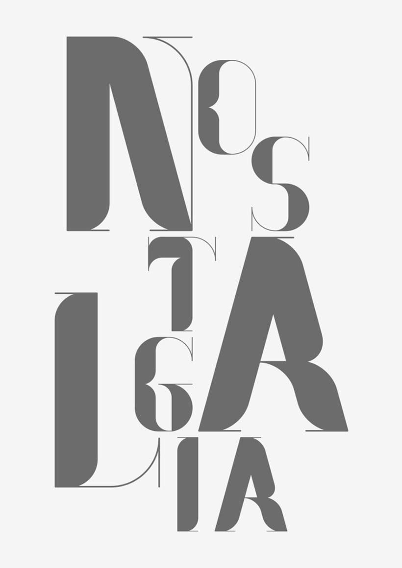 Nostalgia Typeface 9