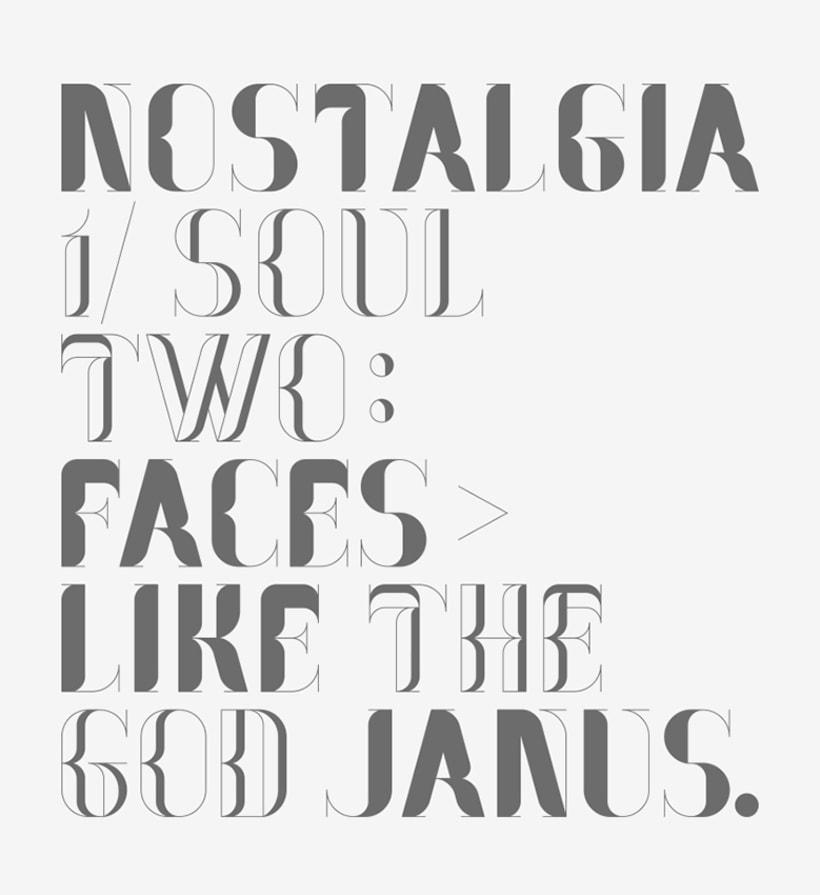 Nostalgia Typeface 12
