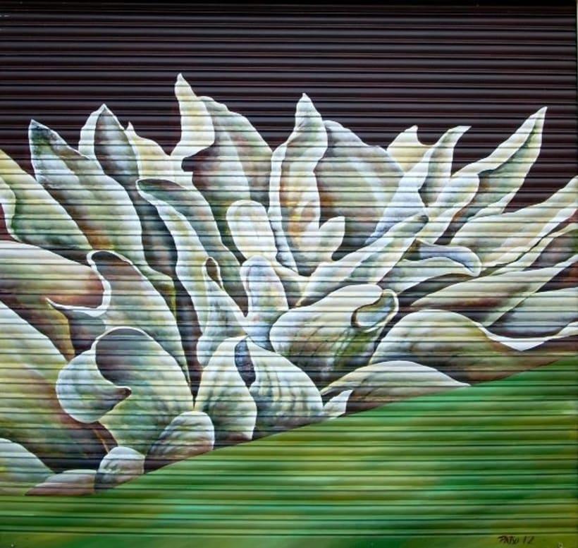Pintura mural en fachadas, cierres e interiores 7