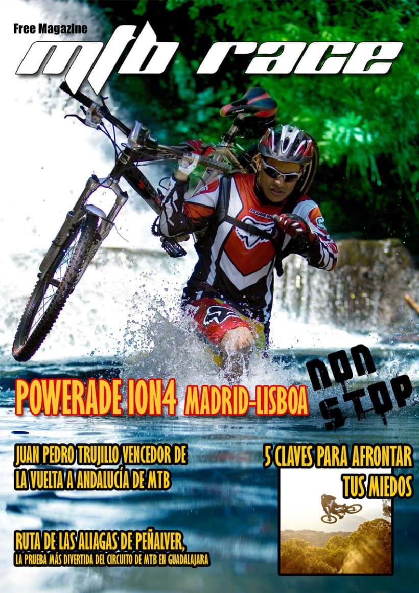Proyectos Portadas MTB race 2