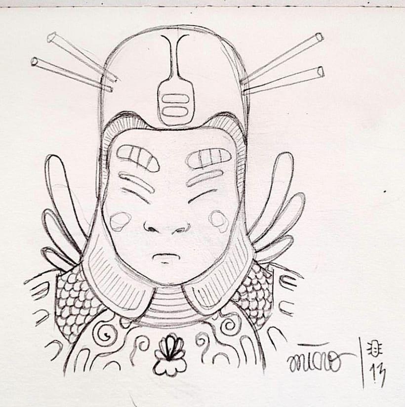 Bocetos y doodles - III 1