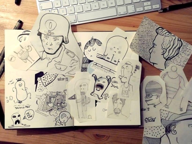 Bocetos y doodles - III 0