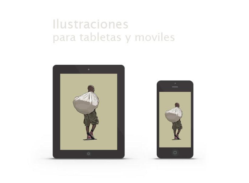 Madrid, Ilustraciones para tabletas y móviles 0