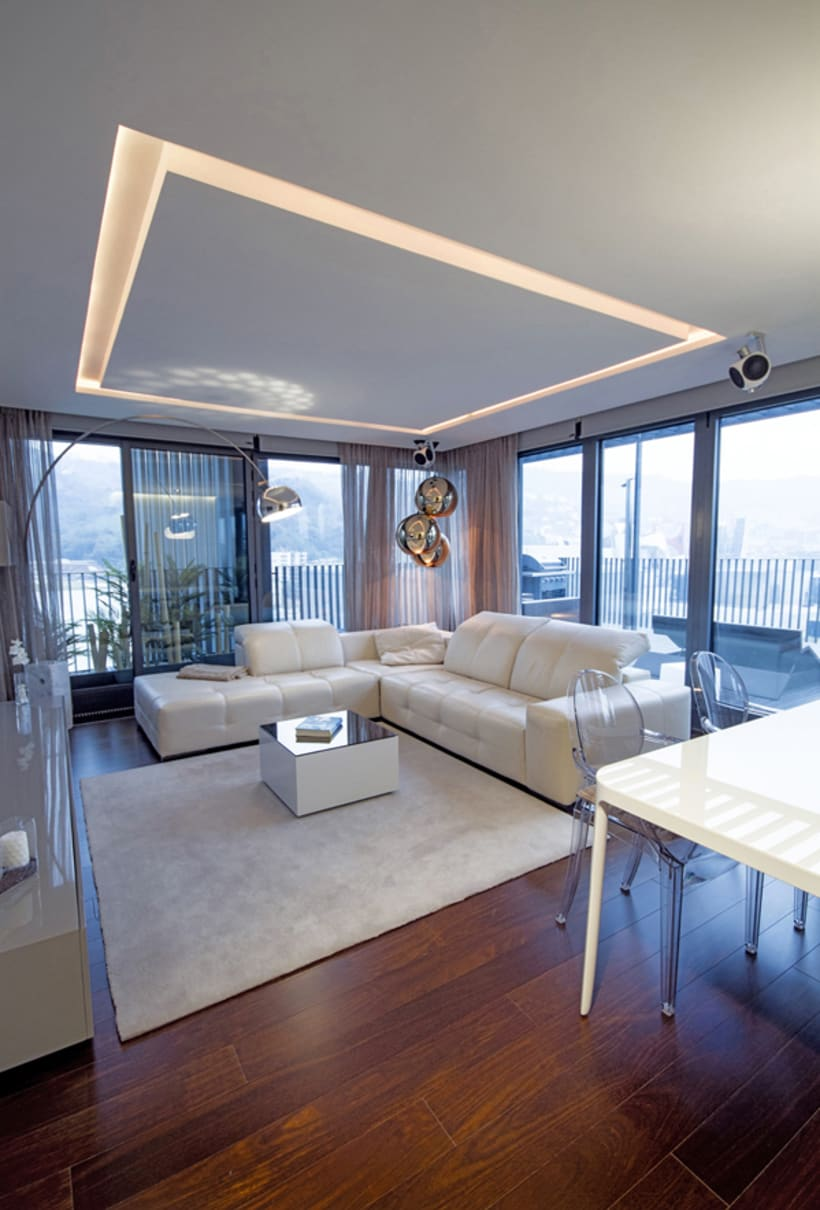 Dise o interior vivienda m p domestika for Diseno vivienda