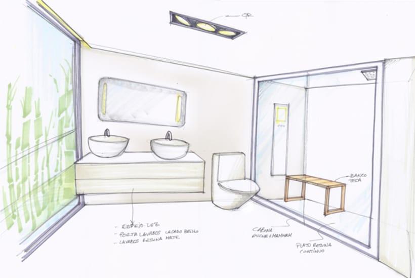 Diseño Interior vivienda M&P 16