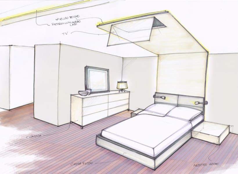 Diseño Interior vivienda M&P 17