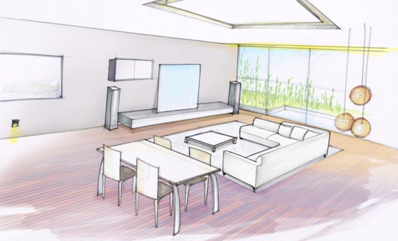 Diseño Interior vivienda M&P 18