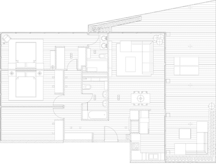 Diseño Interior vivienda M&P 0