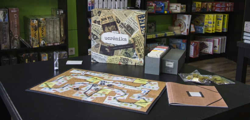Ucrónika : juego de mesa narrativo. 3