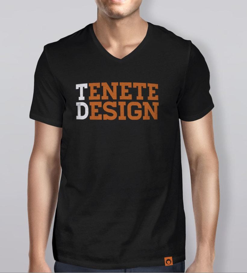 Camisetas Tenete Design 3
