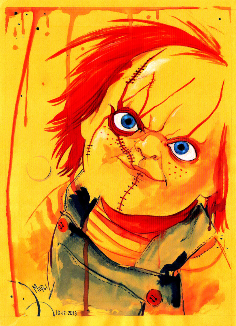 Ilustración: Chucky (Child's Play) 2
