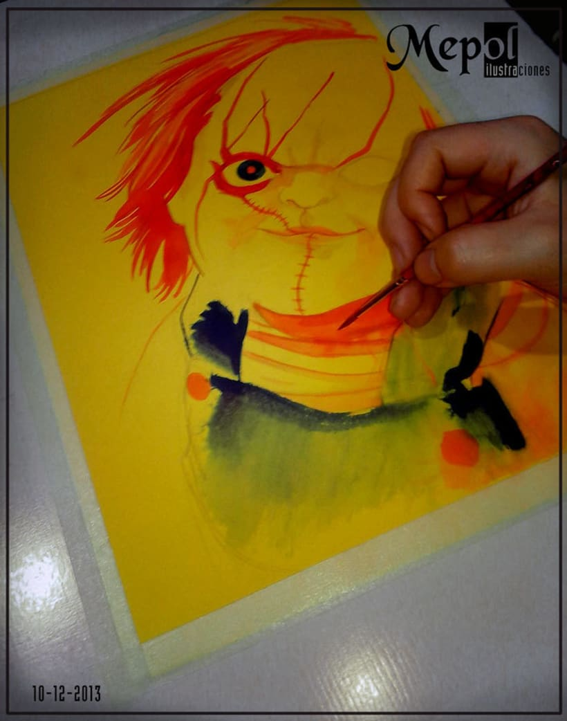 Ilustración: Chucky (Child's Play) 4
