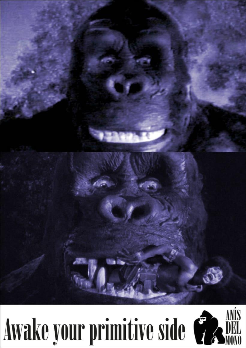 Rediseño de la marca Anís del Mono 1