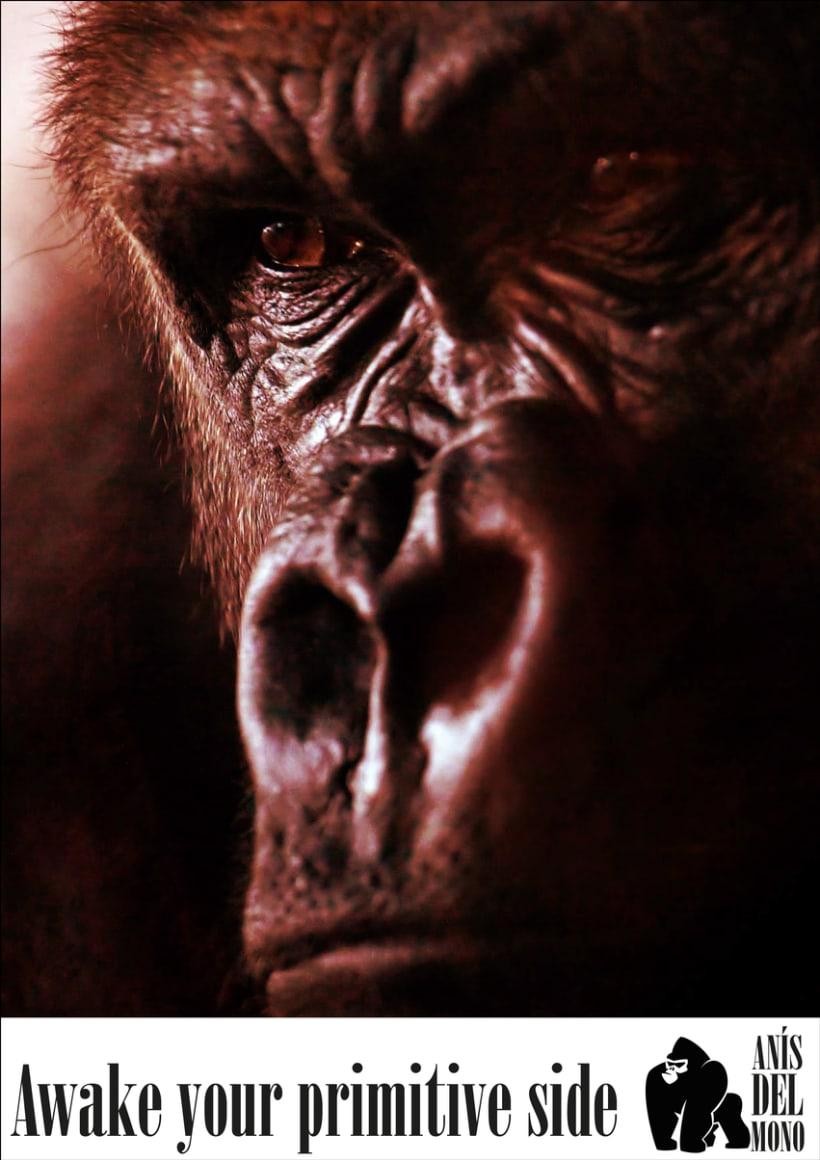 Rediseño de la marca Anís del Mono 2