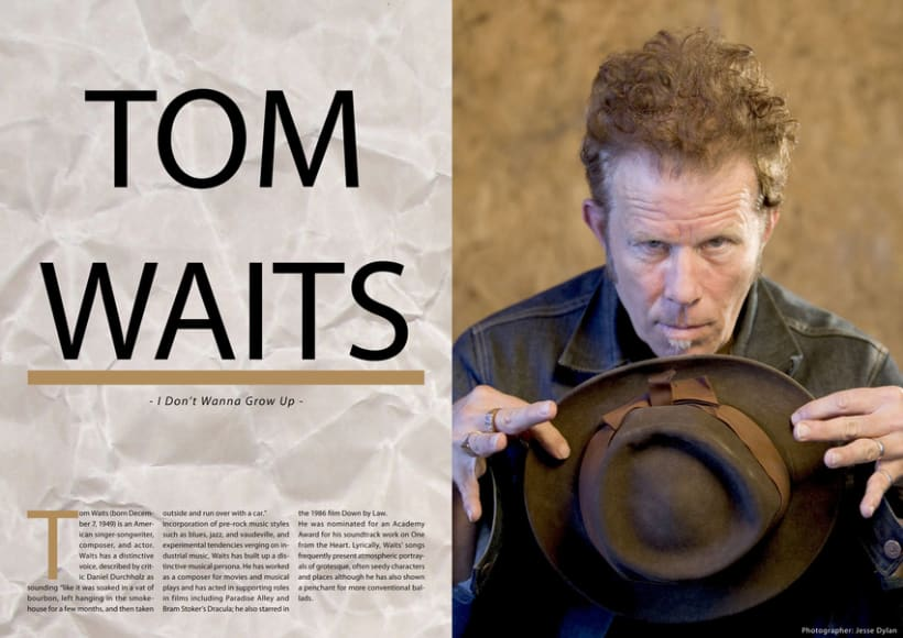 Tom Waits Article -1